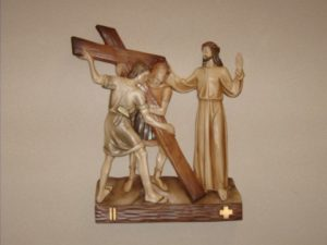 2nd Station: Jesus carries his cross