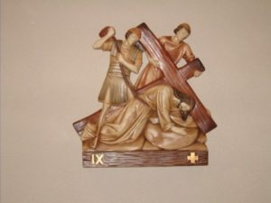 9th Station: Jesus falls the third time