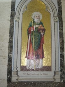 Mosaic feature 2nd floor (All Saints)